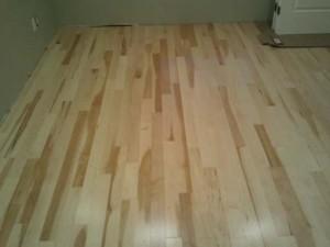 solid wood nail down