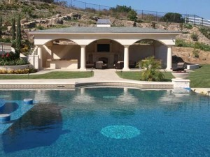 custom home in coto de caza
